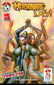 Witchblade Devi #1 (2008) NYCC Convention Variant Top Cow comic book